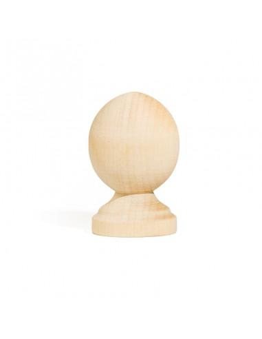 Wood knob R10